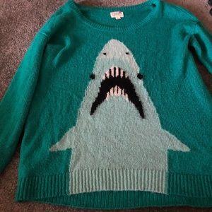 PacSun Shark Sweater